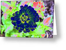 Flower Power 1460 Greeting Card