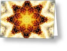 Flower Stars Greeting Card