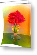 Flower Study #1 Greeting Card