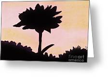 Flower - Sunrise Greeting Card