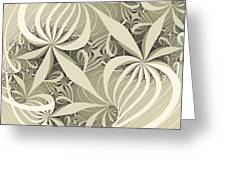 Flower Swirl Greeting Card