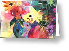 Flower Symphony 03 Greeting Card