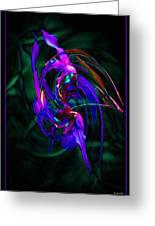 Flower Tango  Greeting Card