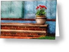 Flower - Tulip - A Pot Of Tulips Greeting Card
