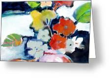 Flower Vase No.1 Greeting Card