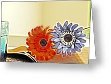 Flowerecent Greeting Card
