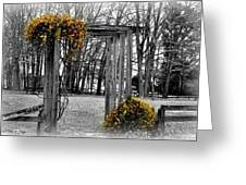 Flowering Archway Greeting Card