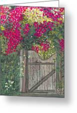 Flowering Gateway Greeting Card