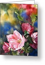 Flowering Maple Greeting Card