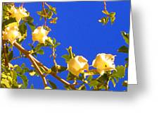 Flowering Tree 1 Greeting Card