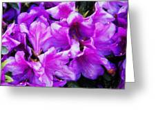 Flowers 2078 Acanthus Greeting Card