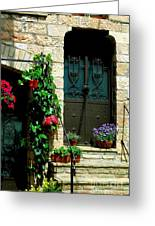 Flowers 4-assisi Greeting Card