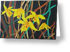 Flowers A Flame Greeting Card