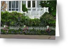 Flowers At Bay Head Greeting Card