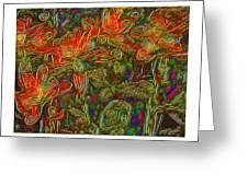 Flowers Btb-4 Greeting Card