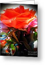 Flowers For A Loved One Greeting Card