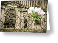 Flowers For Detroit Greeting Card