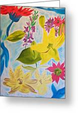 Flowers For Mom Greeting Card