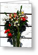 Flowers For My Petal Greeting Card