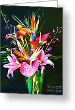 Flowers For You 1 Greeting Card