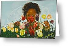 Flowers For You Mama Greeting Card