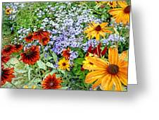 Flowers Galore 2 Greeting Card