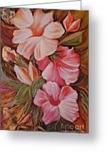 Flowers II Greeting Card