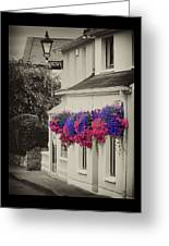 Flowers In Cashel Greeting Card