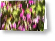 Flowers In Ink Greeting Card