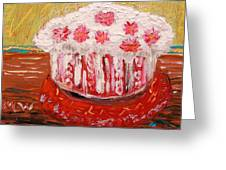 Flowers In The Frosting Greeting Card