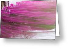 Flowers In The Wind Greeting Card