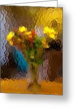 Flowers In Vase - Still Life Greeting Card