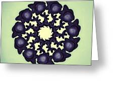 Flowers Of Algebra Greeting Card