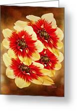Flowers Of Flowers Greeting Card