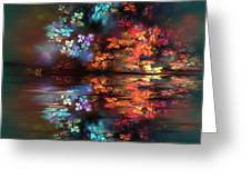 Flowers Of The Night Greeting Card