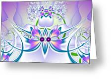 Flowers Pattern Greeting Card