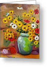 Flowers - Still Life Greeting Card