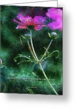 Flowers Whisper 02 Greeting Card