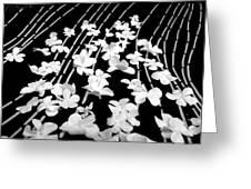 Flowery Flow Greeting Card