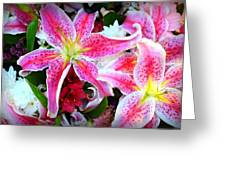 Flowerz Greeting Card