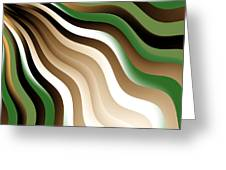 Flowing Graphic Greeting Card