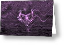 Flowing Heart Greeting Card