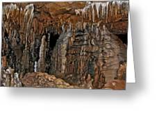 Flowing Metal. Florida Caverns. Greeting Card