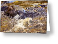 Flowing River Rapids Greeting Card