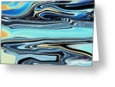Flowing Tide Greeting Card