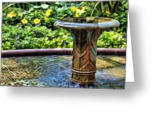 Flowing Water Greeting Card