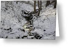 Flowing Water Greeting Card