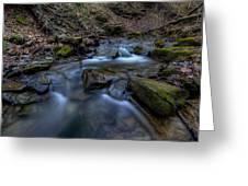 Flowing Waters Greeting Card