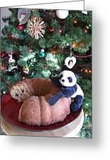 Floyd Celebrates The New Year With Almond Bundt Cake Greeting Card