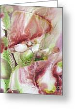 Fluid Abstract Greeting Card